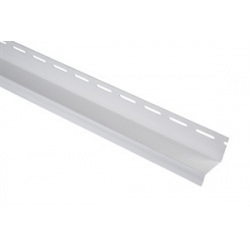 Сайдинг Планка Навесная белая (3м)