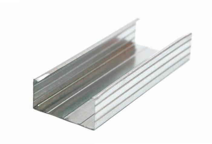 Профиль металлический 60х27 мм «Т» min 0.45 оцинкованный (3м)
