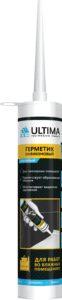 Герметик силиконовый ULTIMA 280 мл. прозрачный