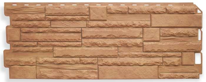 Фасадные панели. Коллекция «Камень скалистый»