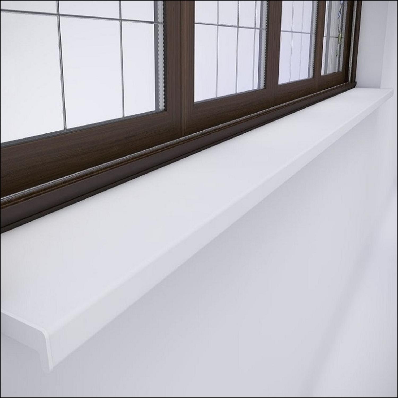 Подоконник пластиковый белый 10 см