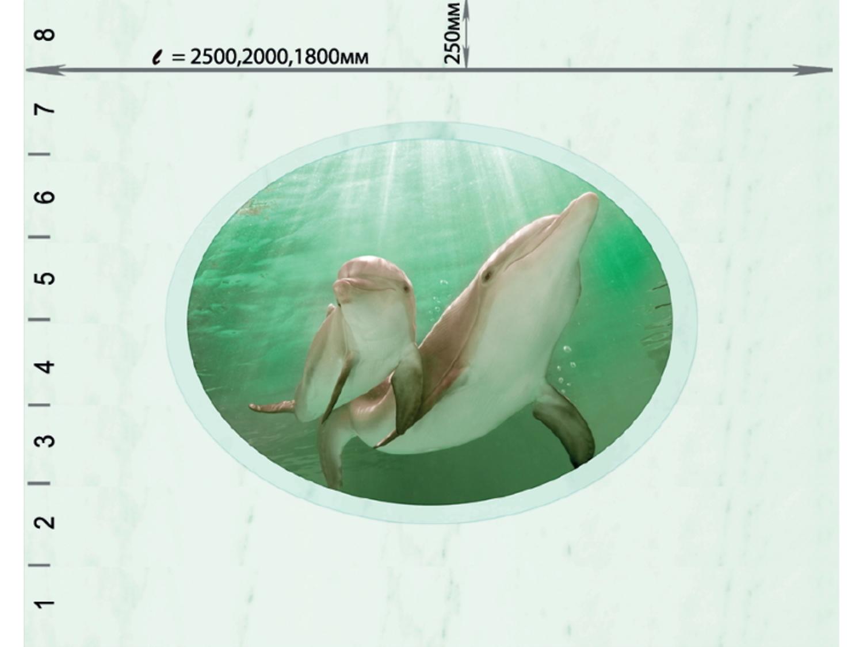 Комплект потолка Novita «Океан Зеленый»
