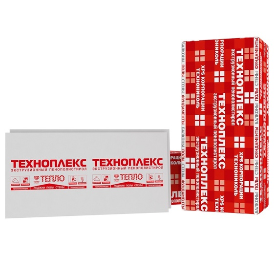 Техноплекс XPS 50 мм (6 шт/уп = 4,11 м2)