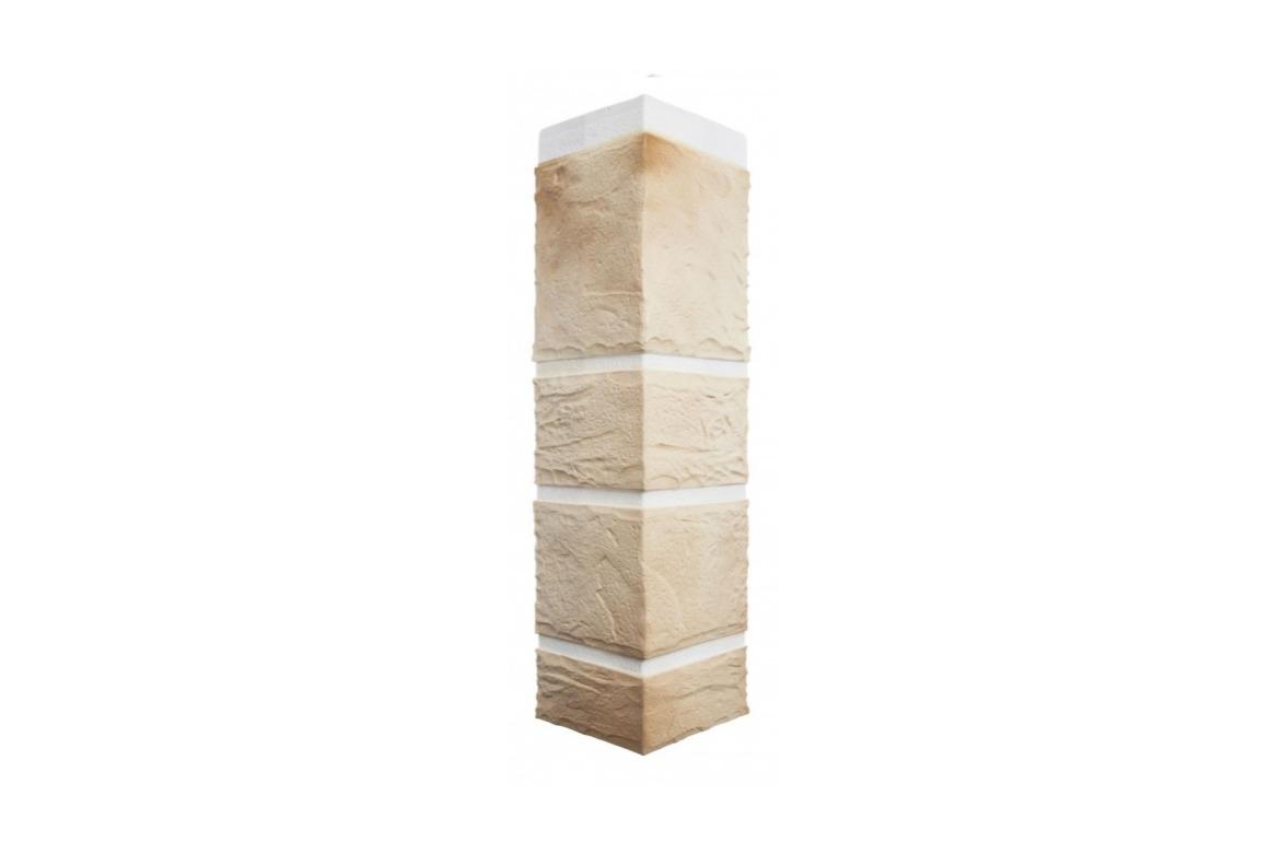 Угол наружный Камень Пражский (470х110х31 мм)