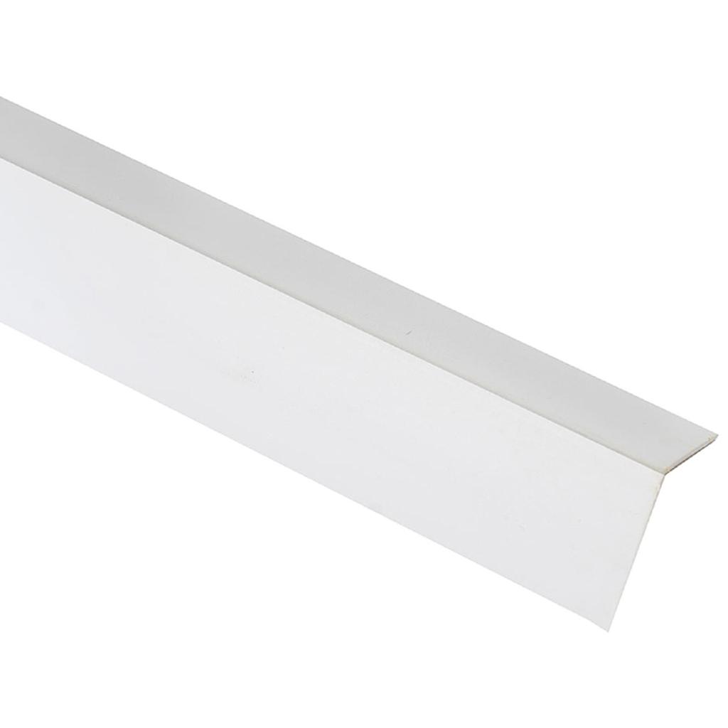 Угол ПВХ арочный 20х40 мм (3м)