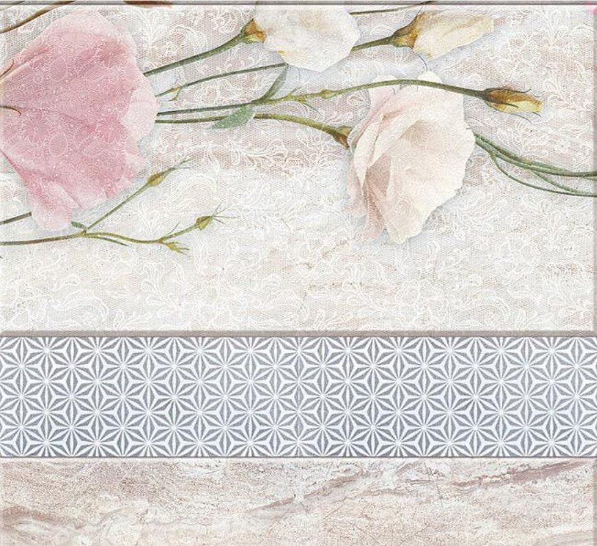 Панель UNIQUE «Эста с глиттером серебро» 0,25х2,7 м.